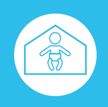 Établissement d'accueil du jeune enfant de Bourgogne-Franche-Comté financés en 2018