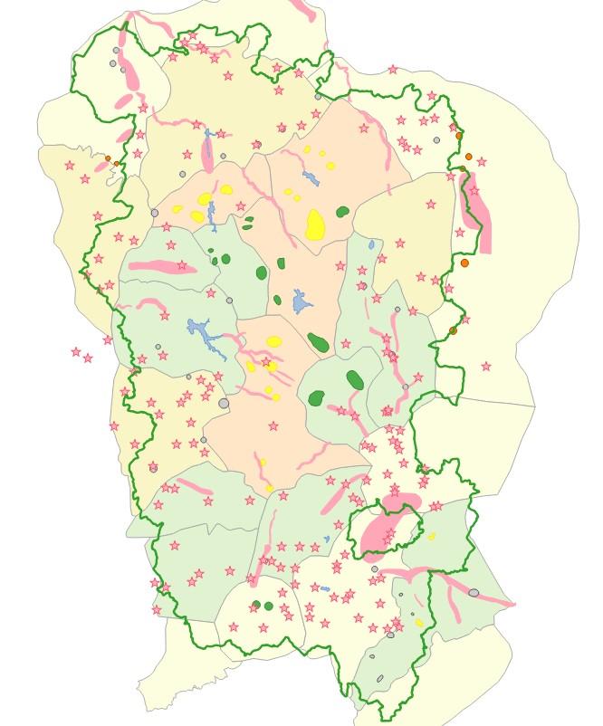 Atlas des paysages du Parc naturel régional du Morvan