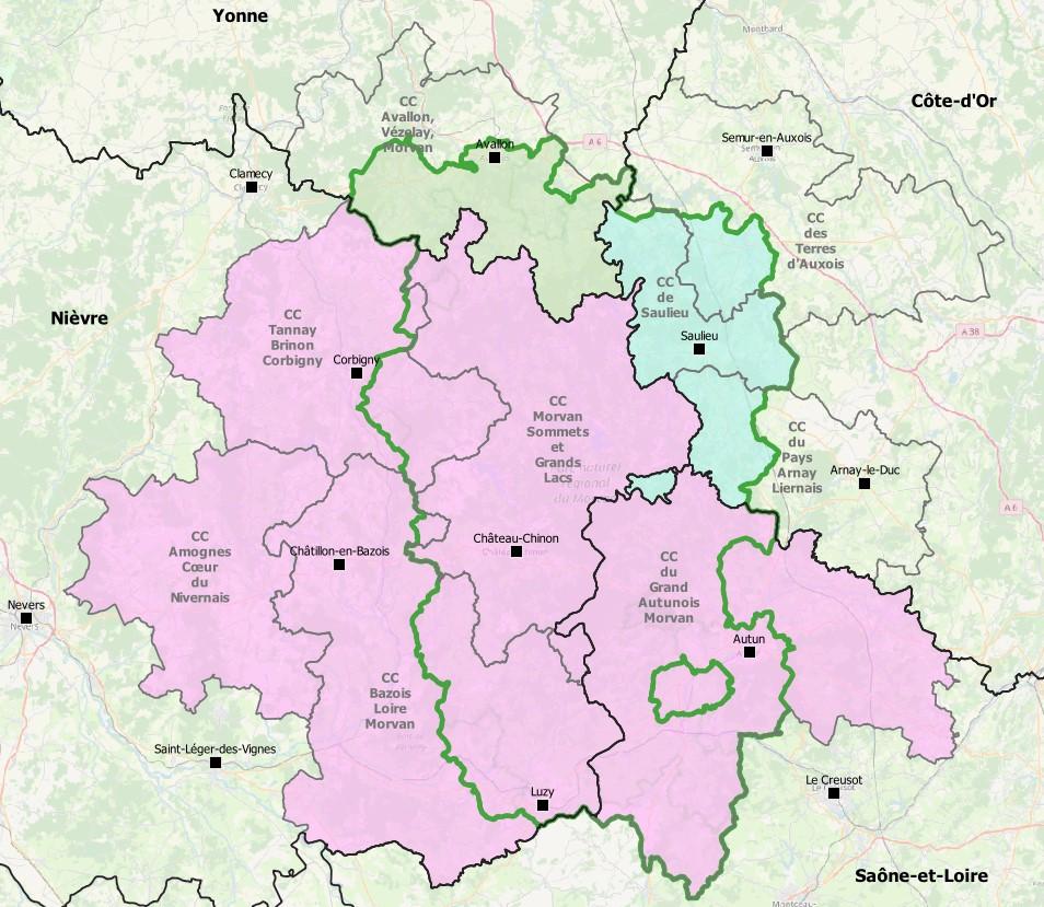 Programme LEADER dans le Parc naturel Régional du Morvan