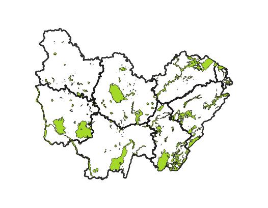 Natura 2000 - Zones Spéciales de Conservation (ZSC) - Directive Habitats en Bourgogne-Franche-Comté