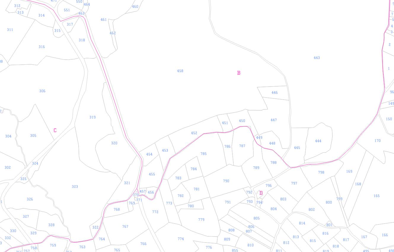 Plan cadastral informatisé dans le Parc naturel régional du Morvan