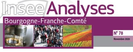 Risque inondation par débordement decours d'eau enBourgogne‑Franche‑Comté: le risque sur l'appareil productif est deux fois plus élevé que celui sur la population