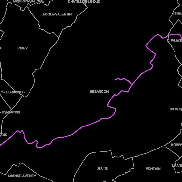 Lignes de Tramway BESANCON