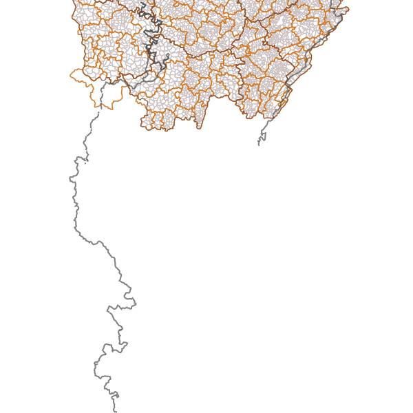 Itinéraires touristiques VTT d'intérêt régional
