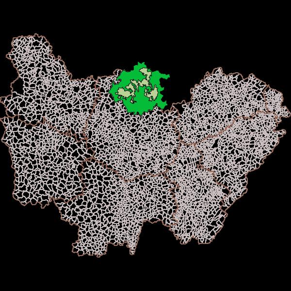 Périmètre du Parc national de forêts, en Champagne et Bourgogne
