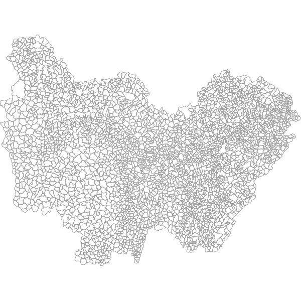 Communes de Bourgogne-Franche-Comté