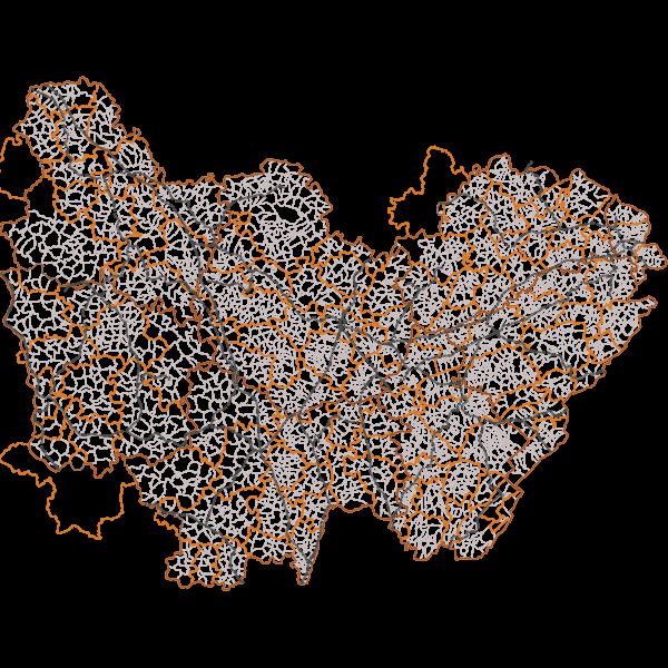 Réseau ferré régional en Bourgogne-Franche-Comté