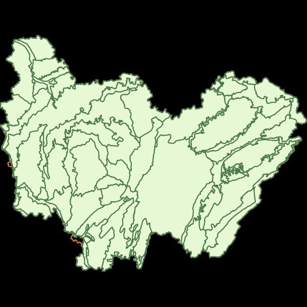 Régions naturelles en Bourgogne-Franche-Comté