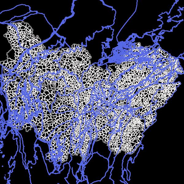 Masses d'eau souterraines en Bourgogne-Franche-Comté (MESO)