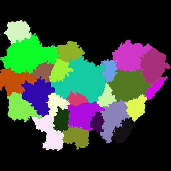 Zones d'Emploi en Bourgogne-Franche-Comté