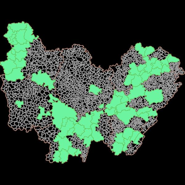 Plan Local d'Urbanisme Intercommunal (PLUi) en Bourgogne-Franche-Comté