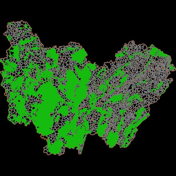 Zones Naturelles d'Intérêt Ecologique Faunistique et Floristique (ZNIEFF) de type 2 en Bourgogne-Franche-Comté