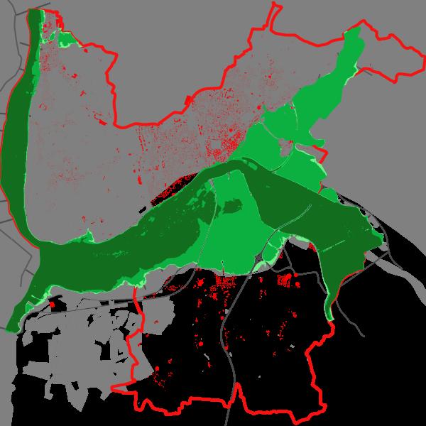 Territoire à risque important d'inondation (TRI) de Nevers