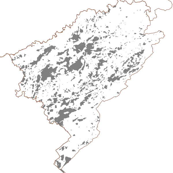 Mouvements de terrain de type effondrement hors Plan de Prévention des Risques Naturels du Doubs (surfacique)