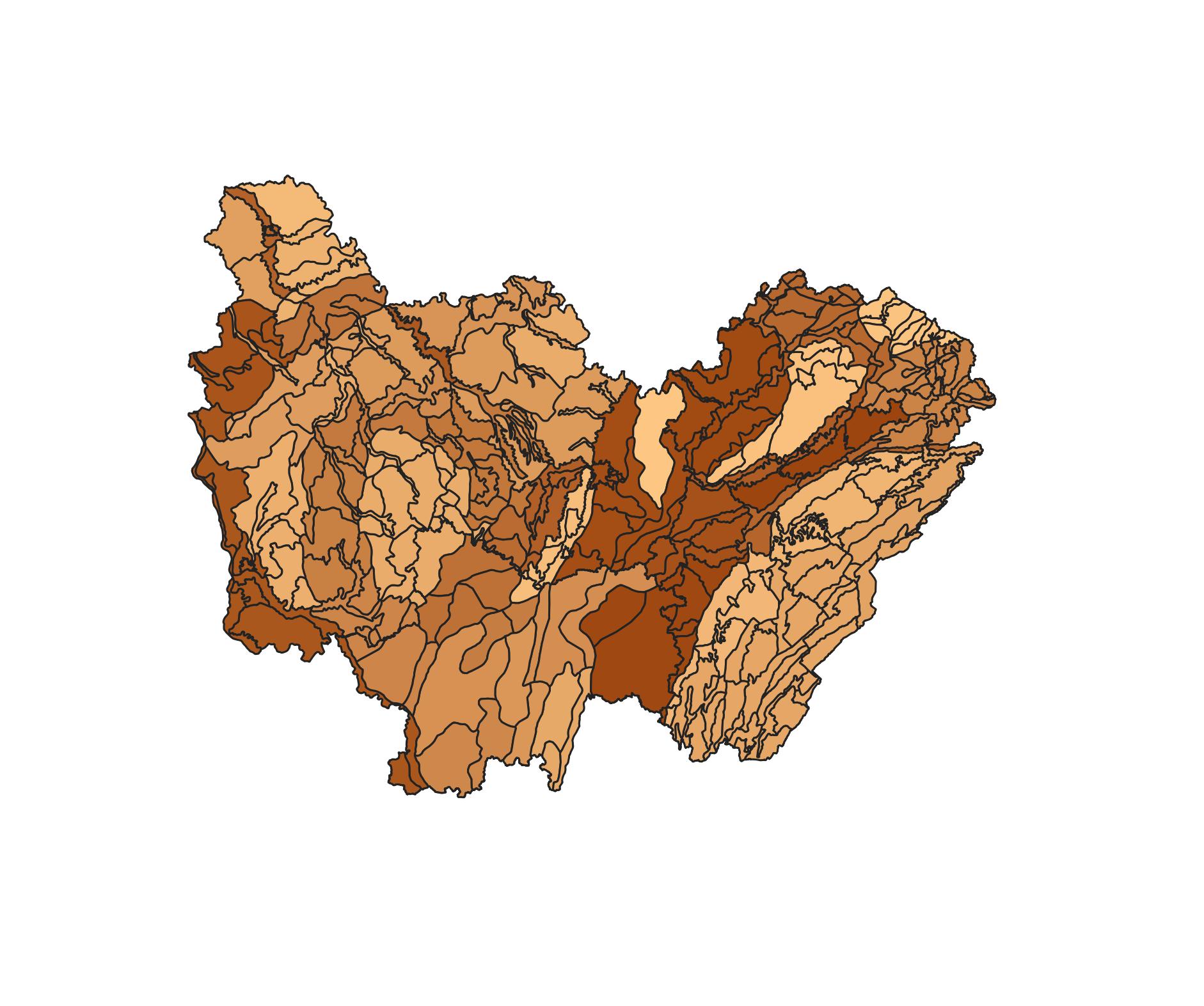 Unités paysagères de Bourgogne-Franche-Comté